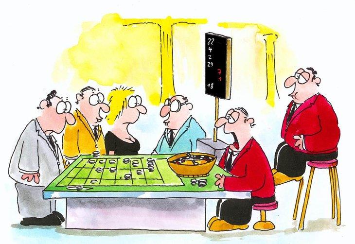 Die Ursprünge der Risiko- und Wahrscheinlichkeitstheorie sind eng verbunden mit dem Glücksspiel.